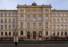 Hauptgebäude der TU Chemnitz