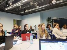 """Workshopteilnehmende """"E-Assessment in der Hochschulpraxis"""""""