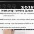 Workshop Termine im Januar