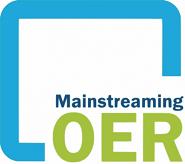 Mainstreaming OER -  Kompetenzentwicklung für Multiplikatorinnen und Multiplikatoren in Schule,  Hochschule und Erwachsenenbildung